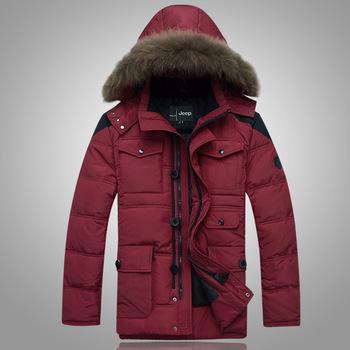 Бесплатная доставка 2016 зима утка пальто новый человек зимняя куртка пуховик мужские теплые мода пальто siae L-3XL 140wj