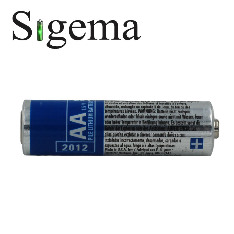 4pcs/lot 100% original battery for Energizer PHOTO L91 1.5V lithium non-rechargeable AA battery(China (Mainland))