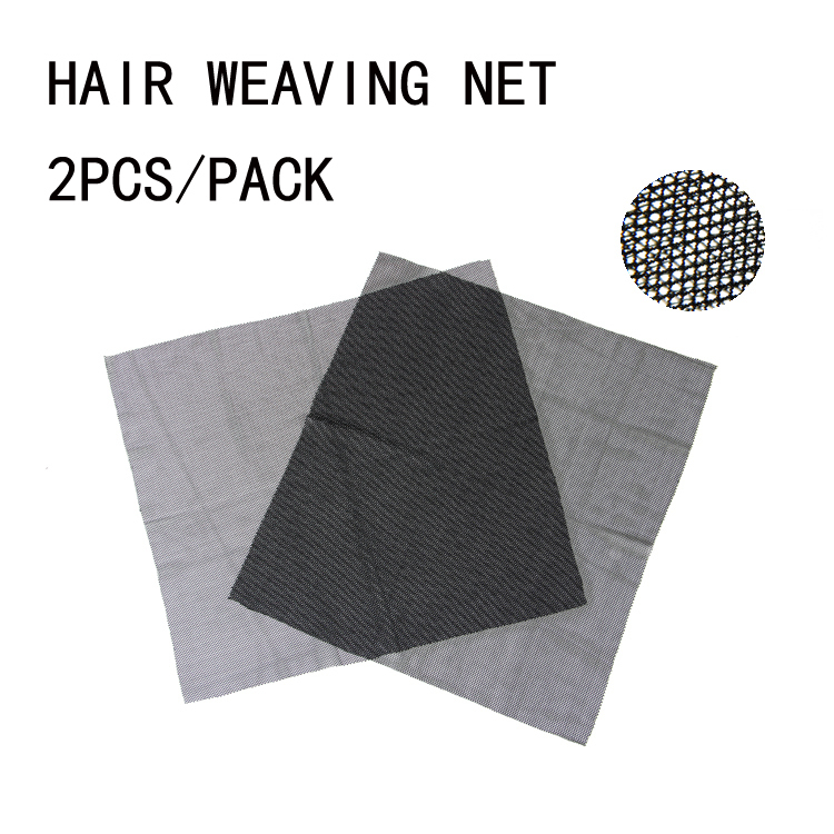 Spandex Stretch hair weaving net Braided wig special net cloth 2pcs/pack(China (Mainland))