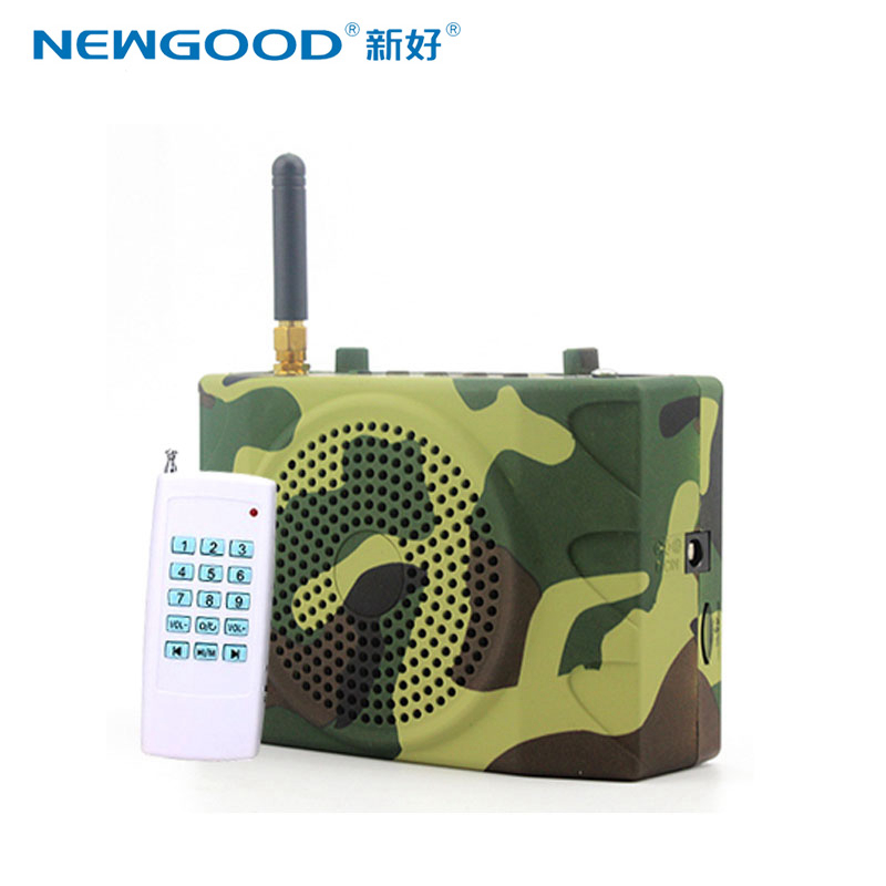 Фотография 2016 New type 1000 meters super long distance Remote control Birds Caller Speaker Specially For Hunting and outdoor sports