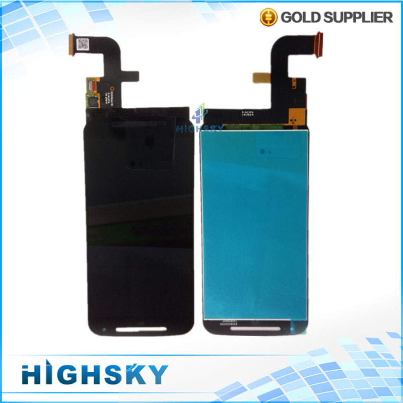 Original new for Motorola MOTO G2 G 2 2nd Gen XT1063 XT1064 XT1068 XT1069 LCD display with touch assembly 1 piece free HK Post
