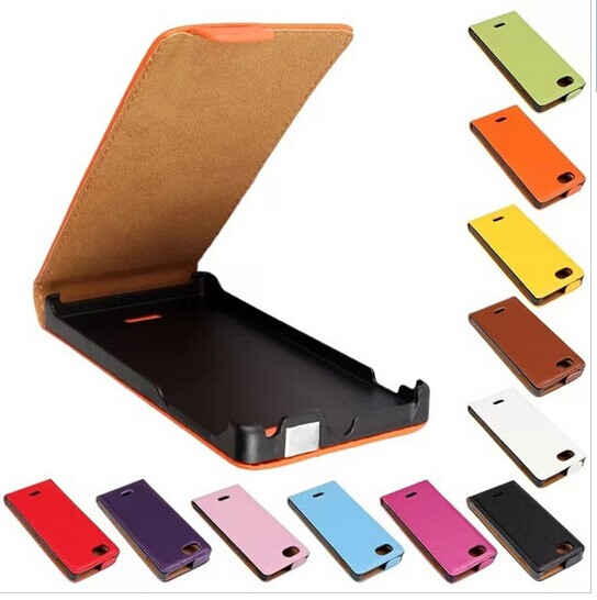 DT1 Genuine Leather Case Sony Xperia J St26i Flip Cover - Colourful case store