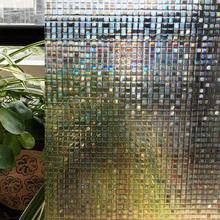 CottonColors  Window Films ,Premium No-Glue 3D Static Decorative Privacy Film, Window Stickers,45 x 200Cm(China (Mainland))