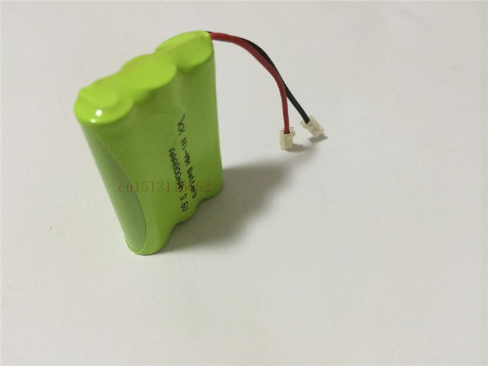 2PCS/lot New riginal Ni-MH AAA 3.6V 800mAh Ni MH Rechargeable Battery Pack With Plugs For Cordless Phone Free Shipping(China (Mainland))