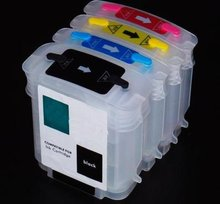 1Set Empty Refillable Cartridges for HP Designjet 500/500ps/800/800ps/815mfp,Cartridge type,HP4844/4911/4912/4913