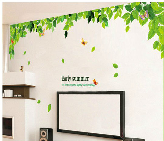 Family tree home decor wall stickers for kids rooms for Diy family tree wall mural
