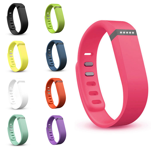 Colorful Large Replacement Wristband & Clasp No Tracker For Fitbit Flex Bracelet (NoTracker) NKIwl glEH TIXG(China (Mainland))