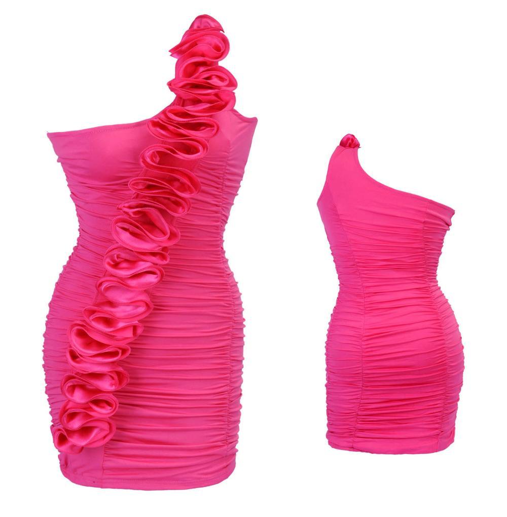 2014 Fashion Summer hot sale dress Club clothing and fashion dresses AM8059rose(China (Mainland))