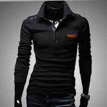 2016 New men polo ralphmen sweater slim fit polo shirt men long polo shirts high quality homme sweatershirts pullovers CD0167
