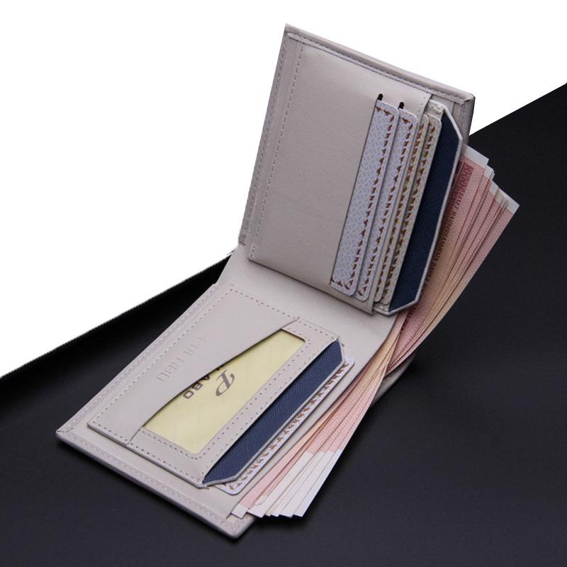 new 2015 men designer wallets famous brand mens wallet male PU Leather Wallet Purse Multifunctional Men Billfold Card holders(China (Mainland))