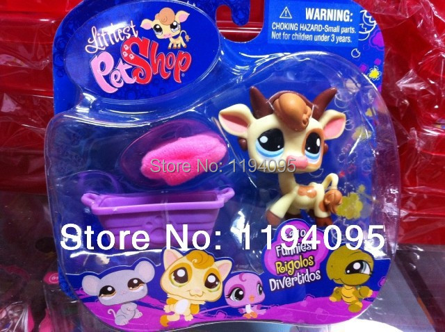 6set/lot export original products toys LPS Animals toys Littlest Pet Shop ,Collectors Pack high quality(China (Mainland))