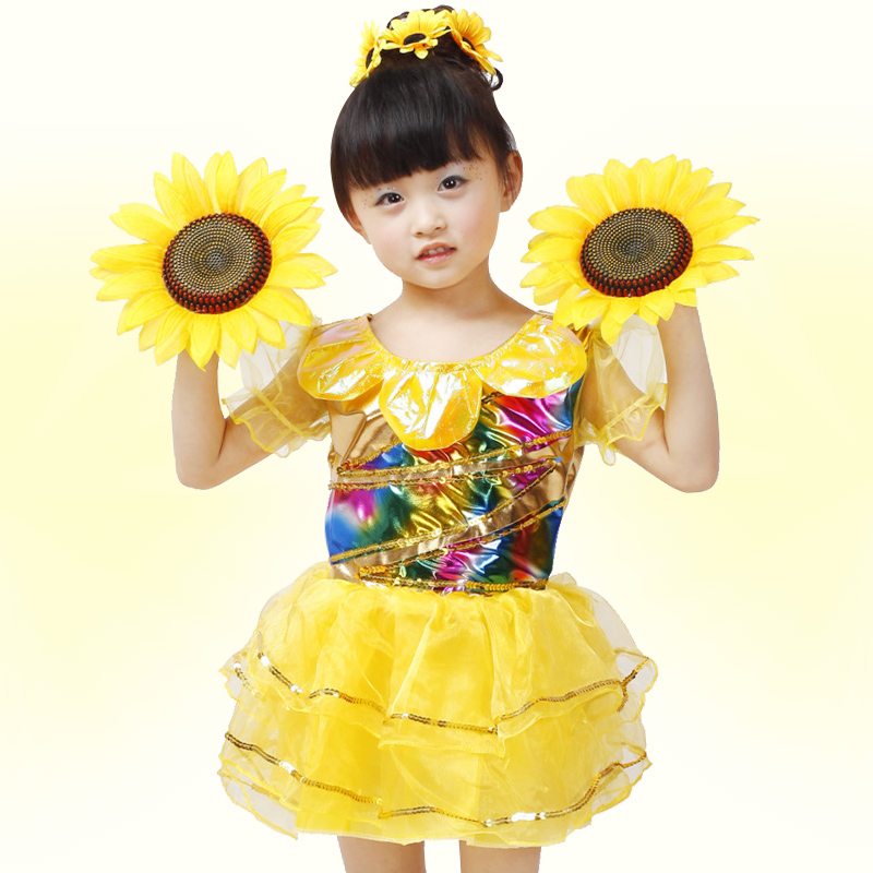 Sun Costume Costume Girls Sun Flower