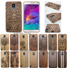 Luxury 100%Bamboo Sculpture Wood Engraved Case Shell Cover For Samsung Galaxy S4 mini/S5 Neo/S6 Edge Plus/NOTE 5/4/A3/A5/S7 Edge(China (Mainland))