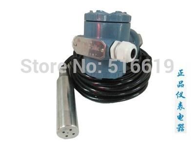 Free shipping Input type liquid level sensor / level meter level sensor / liquid level transmitter 4-20mA(China (Mainland))