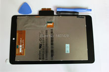 For ASUS GOOGLE NEXUS 7 1st Gen 2012 LCD Display Screen Touch &Screen digitizer Assembly with free tools&free shipping(China (Mainland))