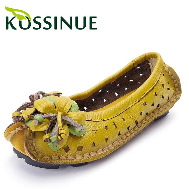 Большой размер 35-41 Новых Обувь Из Натуральной Кожи Женщина Сандалии Женские Вырез ...