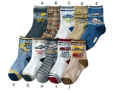 2015 New Lamaze Socks Baby Boy Socks Cotton Material 4-8 Years Age 10 Pairs/lot Feet Length 15-19cm Infant Kid's Free Shipping(China (Mainland))
