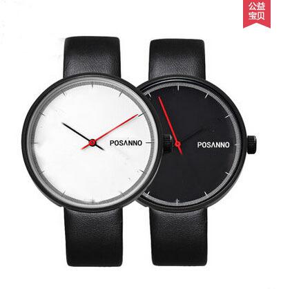 2014 famous brand watch leather strap military men sports watches women dress quartz watches large dial lady wristwatch vintage<br><br>Aliexpress