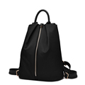 Nylon PU Backpack Women Fashion Casual Travel Bag 2016 New Korean Style Small Travel Bag Solid