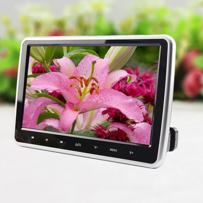 New Arrival 10.1 Inch HD TFT LCD Screen Car Headrest Monitor DVD/USB/SD HDMI Player <br>
