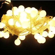 10M 72LEDs 110V 220V waterproof IP65 outdoor multicolor LED string lights Christmas Lights holiday wedding party decotation