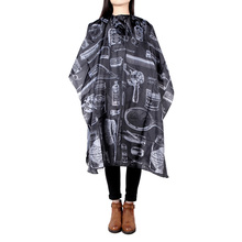 New Hair Cutting Gown Barber Cape Cloth Hairdressing Salon Apron Hairstylist Barber Nylon Hairdressing Cape Styling Tools(China (Mainland))