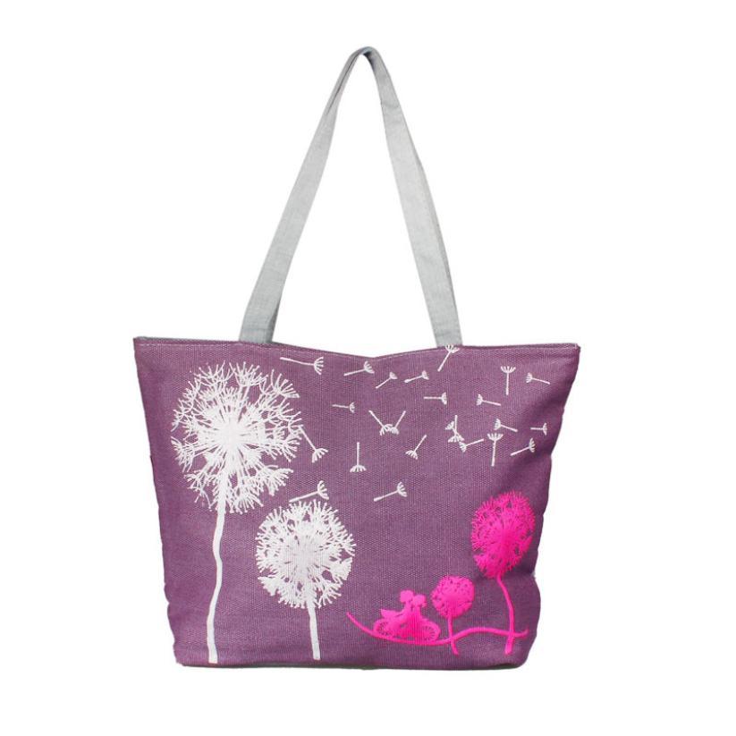 2015 New Famous Design Female Canvas Handbag Shoulder Bag Beach Bag Satchel women shoulder bag Shopping  #EY <br><br>Aliexpress
