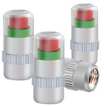 4 pcs 2.2Bar (32PSI) Auto Air Pressure Alert Indicator Valve Stem Monitor Sensor Caps Car Free Shipping(China (Mainland))