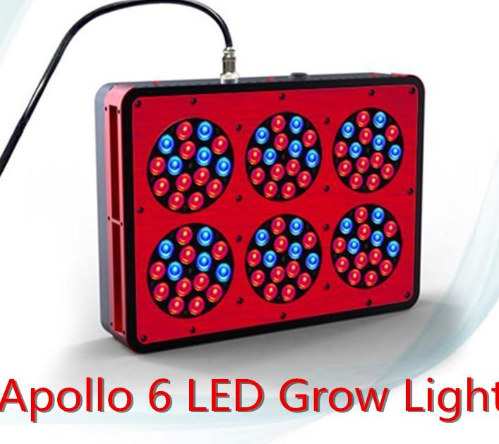 4pcs/lot high power Apollo 6 LED Grow Light AC100~240V AC100~240V Color Red/Blue(China (Mainland))