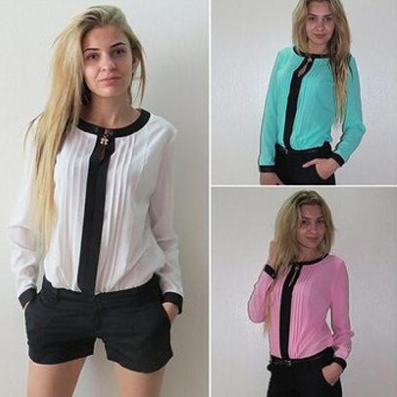 Женские блузки и Рубашки / 2015 4 WCX497 блузки и рубашки