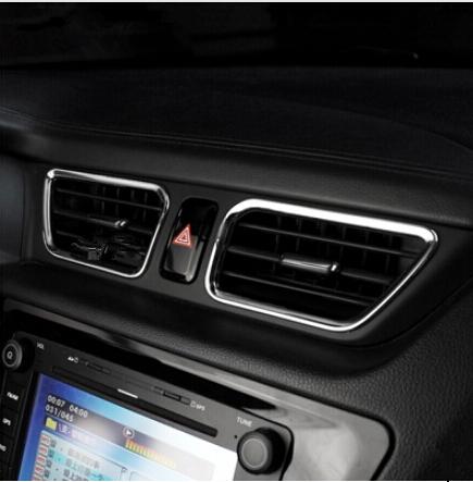 for Kia RIO K2 ABS 2010 2011 2012 2013 air conditioning cover special interior conversion 4PCS/SET(China (Mainland))