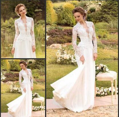 Best selling graceful v neck vintage style bridal dresses for Sell vintage wedding dress