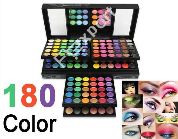 New 180 Color Eye Shadow Cosmetics Make Up Makeup Eyeshadow Palette Set(China (Mainland))