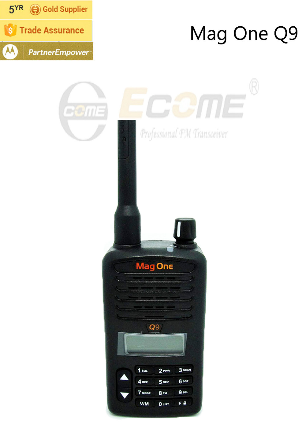 New Product Motorola Mag One Q9 Walkie Talkie(China (Mainland))