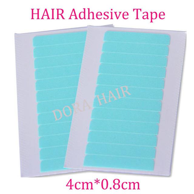 Супер клеи синий замена лента для бразильские волосы 4 см * 0.8 см 60 вкладки 5 лист(ов) ...