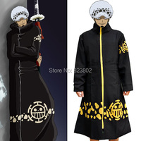 Anime One Piece Trafalgar Law Cosplay Costume Cloak Mantle Trench Overcoat For Adults