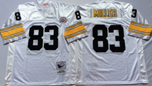 Pittsburgh Steeler Troy Polamalu Merril Hoge Donnie Shell Mike Wagner Greg Lloyd hines ward John Stallworth Greenwood Throwback(China (Mainland))