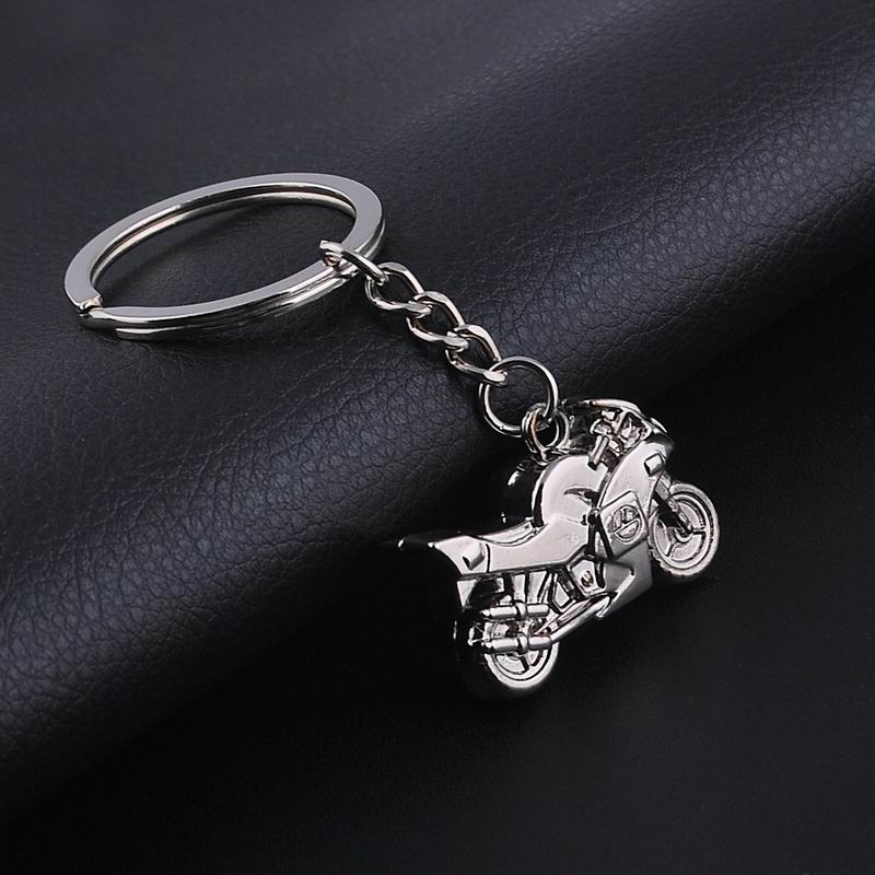 2016 Hot Sale Trendy Creative Jewelry Motorcycle Key Chains Fashion Alloy Key ring For Best Gifts ML002(China (Mainland))