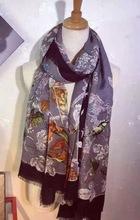 Осень 100% кашемир женщины шарфы 110 * 200 GCJ01-WBH