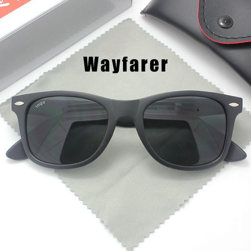 Wayfarer Sunglasses for Men Women with original box Fashion Brand Designer Sun glasses with logo 2015 Summer style Accessories(China (Mainland))