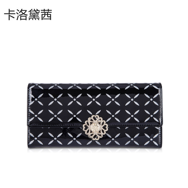 Coraldaisy  Wallet  New  2013   Print Long  Design  Wallet   Hasp Purse  Hardware Wallet   Money Clips Designer Wallets