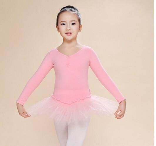 Бесплатные shippignew детей танец платье девушка балета Туту кружева платье фитнес гимнастика одежда носить купальник костюм