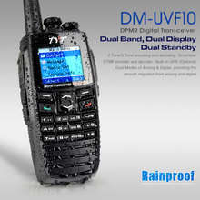 Express Free Shipping 3-10 Days TYT DM-UVF10 Digital Two Way Radio 256CH VHF UHFDual Band Dual Display DTMF Walkie Talkie