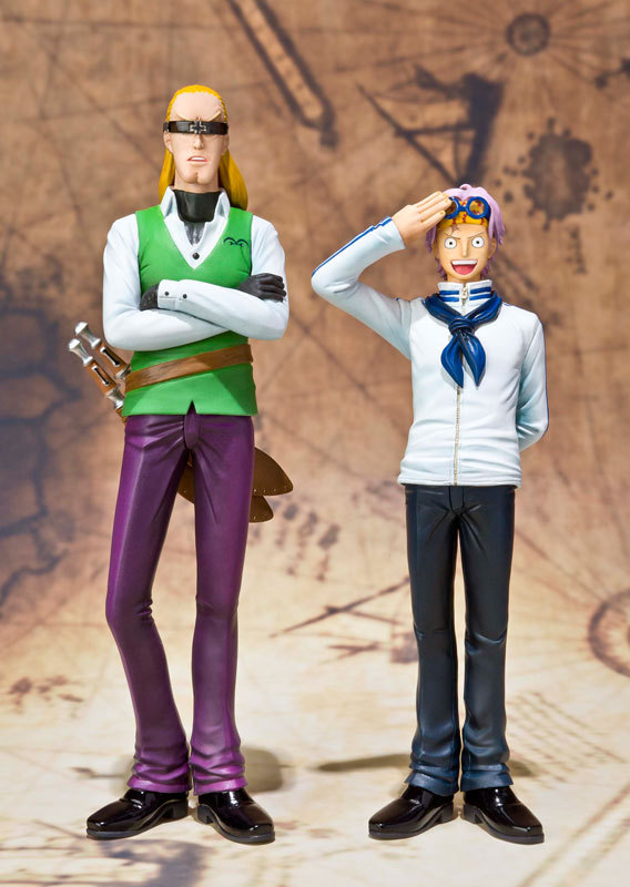 2pcs/set One Piece Coby and Helmeppo Anime Collectible Action Figures PVC Collection toys for christmas gift Free shipping<br><br>Aliexpress