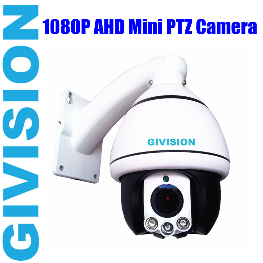 2mp security ahd mini speed dome camera 1080p pan tilt 10x zoom system analog hd ptz ir video. Black Bedroom Furniture Sets. Home Design Ideas
