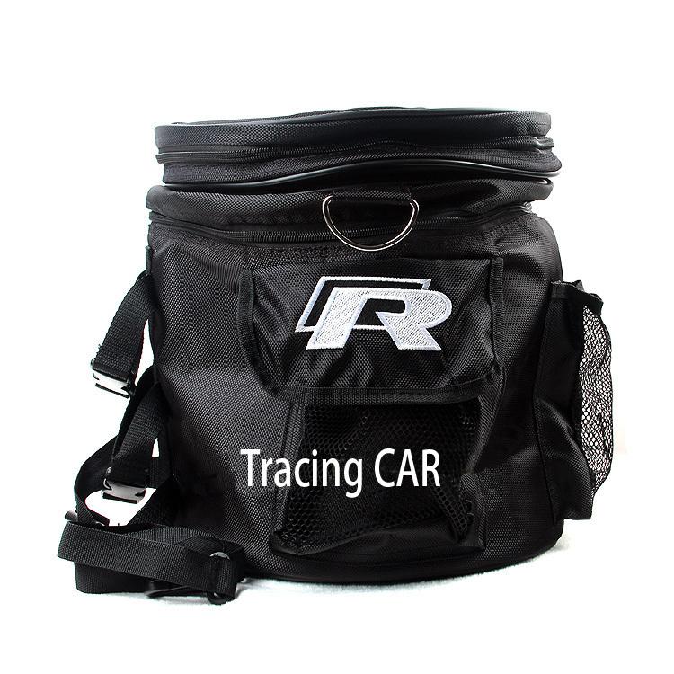 R emblem Black anti-water Stowing Tidying car interior storage bag trunk for volkswagen vw touareg golf 4 5 6 7(China (Mainland))