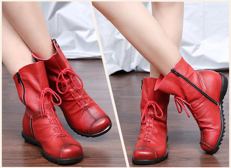 Женские ботинки 2016 Zip zapatos mujer