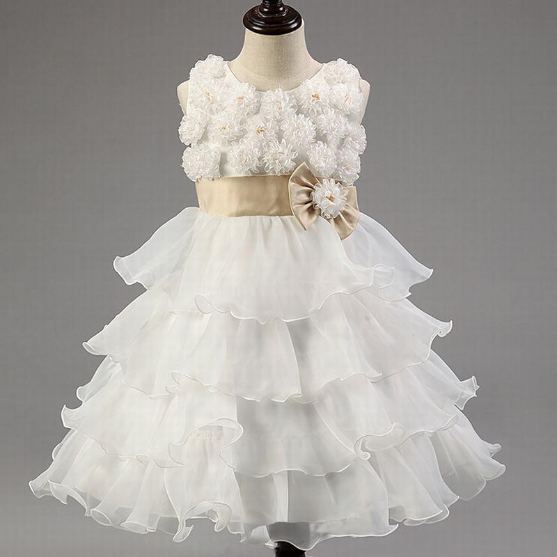 2015 Summer Style Children Wedding Tutu Dress Fashion Princess Dresses Girls Flower Ball Gown Costume K033(China (Mainland))