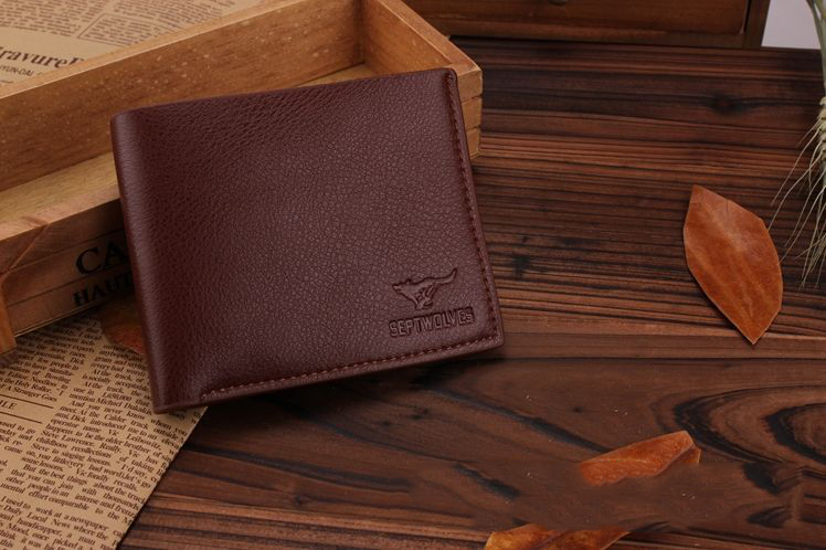 2015New Fashion Mens Wallets Short PU Leather Wallet Casual Style Purse Personality 3Colors Large Volume Card Pack a1(China (Mainland))
