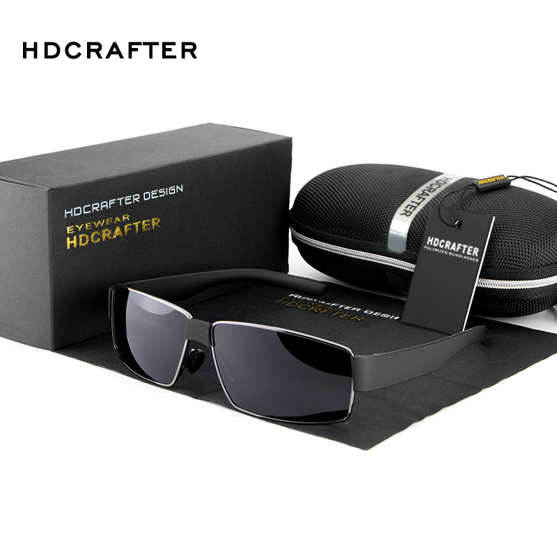 Fashion Men High Quality Polarized Driving Sports Sunglass UV 400 Glasses for Men Free Shipping(China (Mainland))